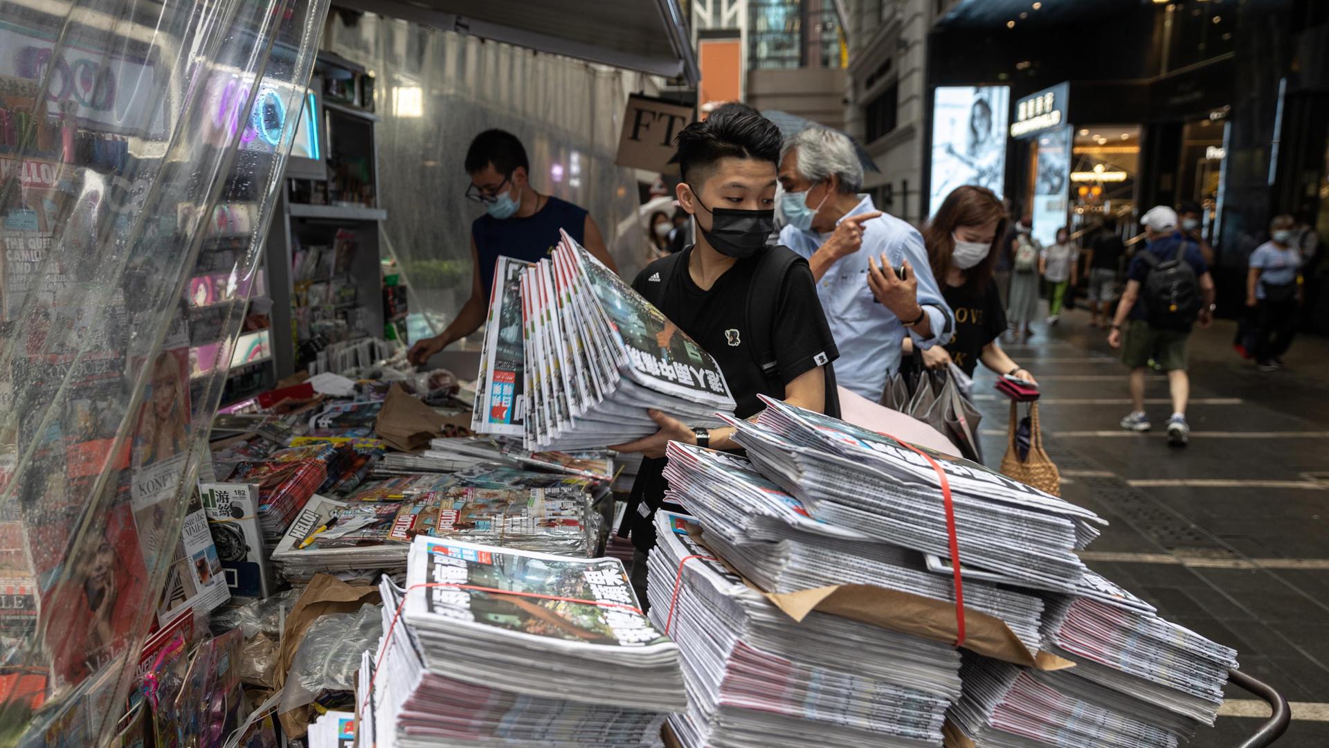 Hong Kong: ultimo giorno di Apple Daily