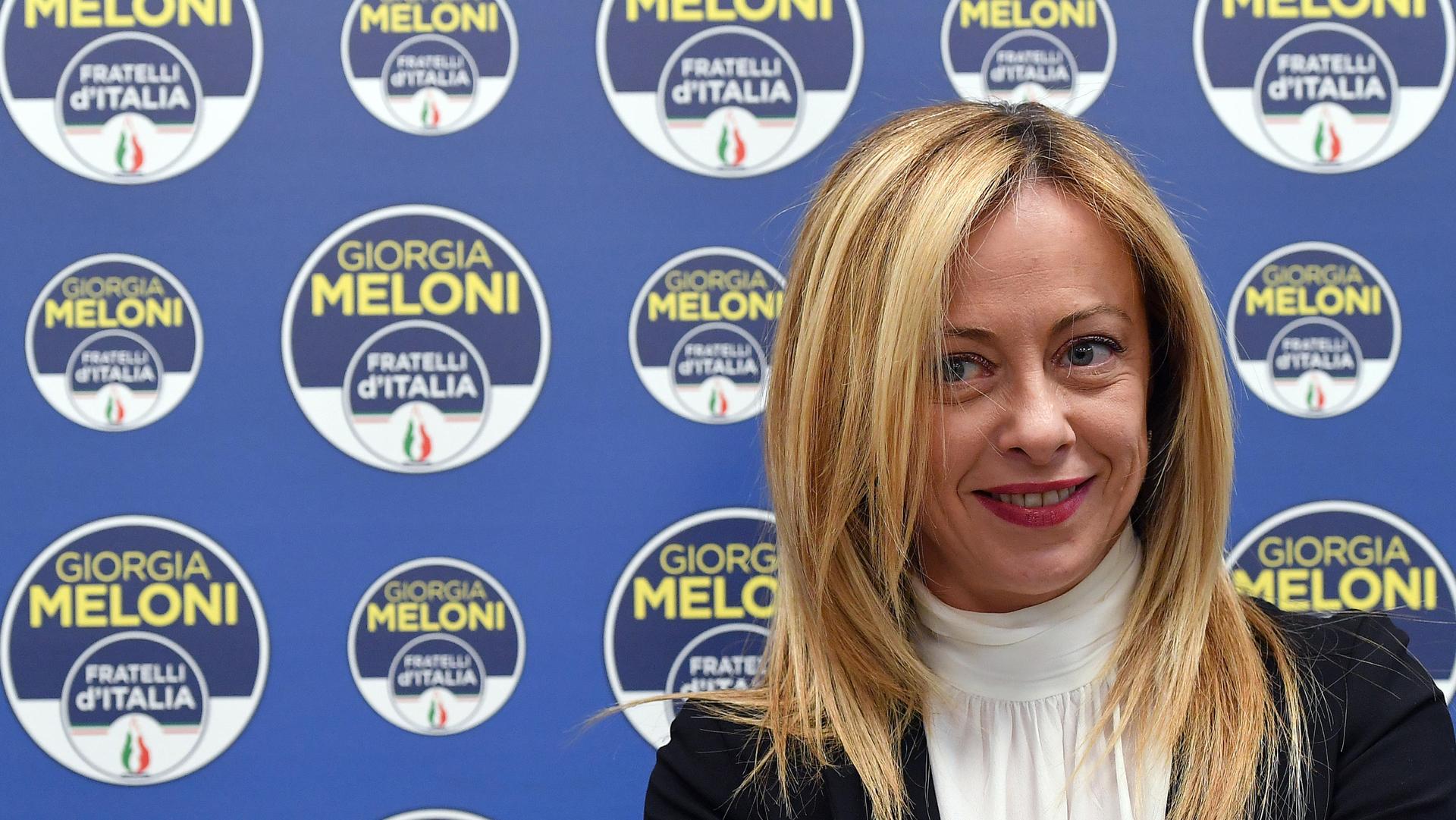 Giorgia Meloni ANSA