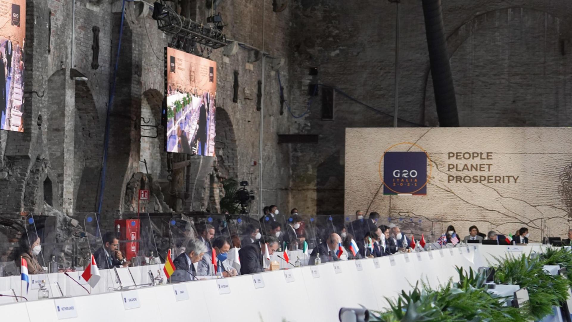 G20 Venezia ANSA