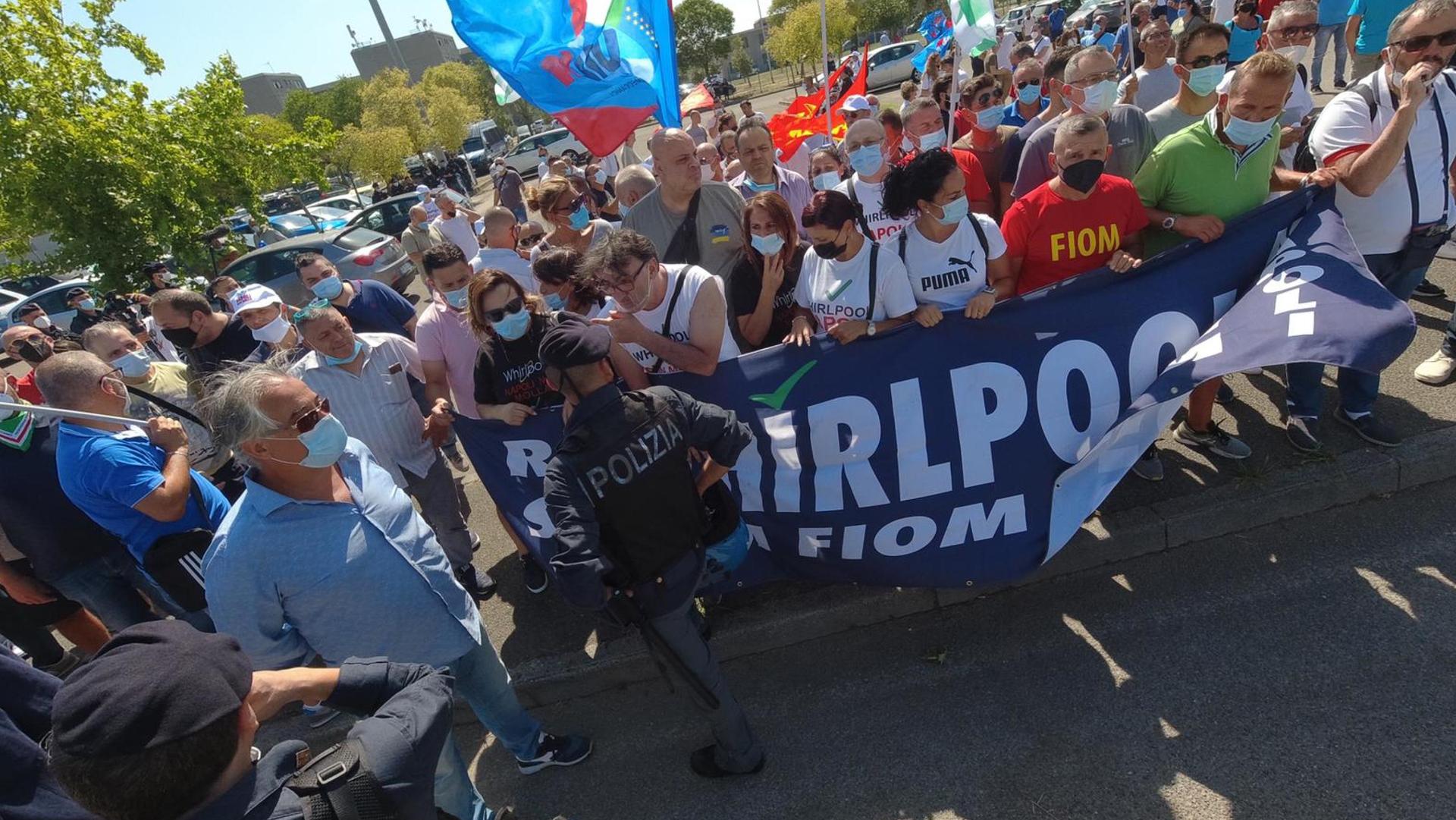 Whirlpool Proteste ANSA