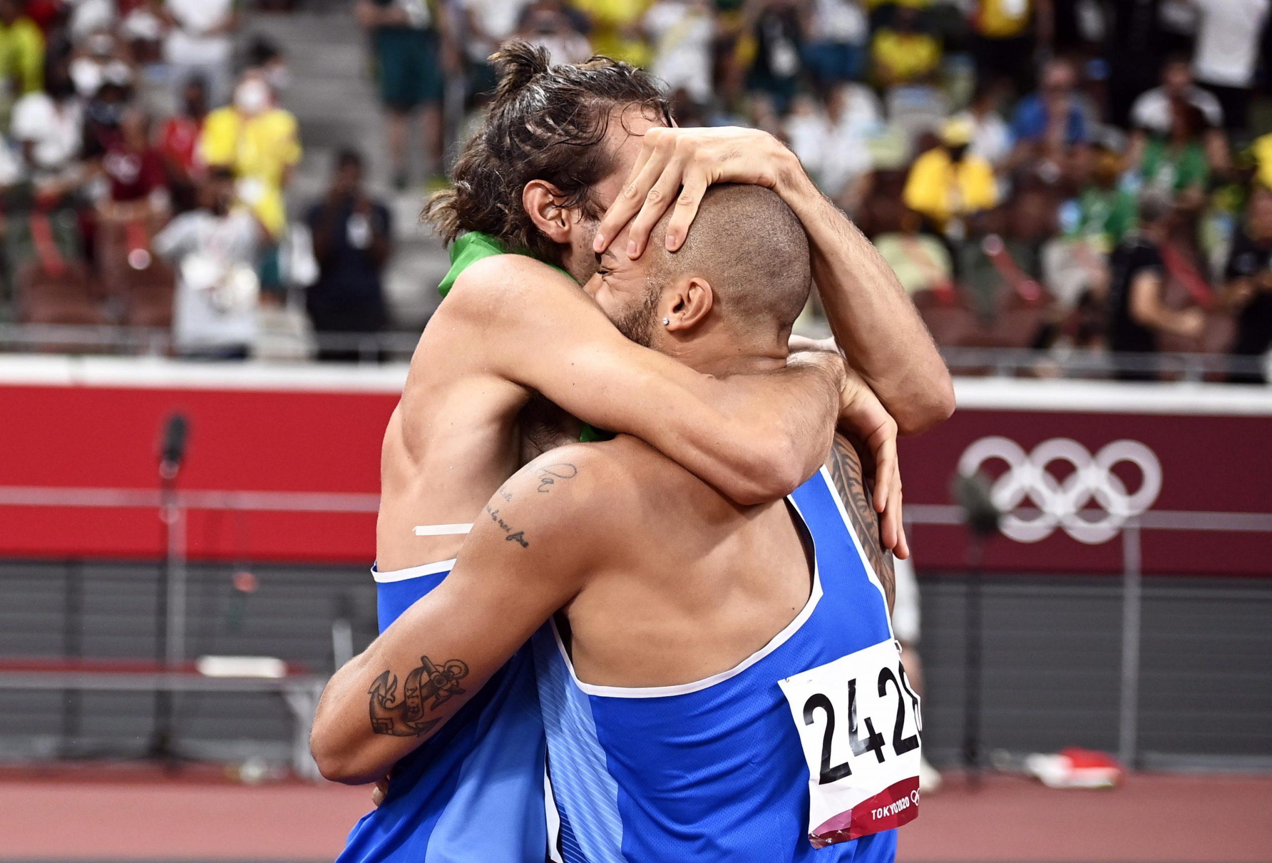 Jacobs e Tamberi nella storia: oro nei 100 metri e nel salto in alto