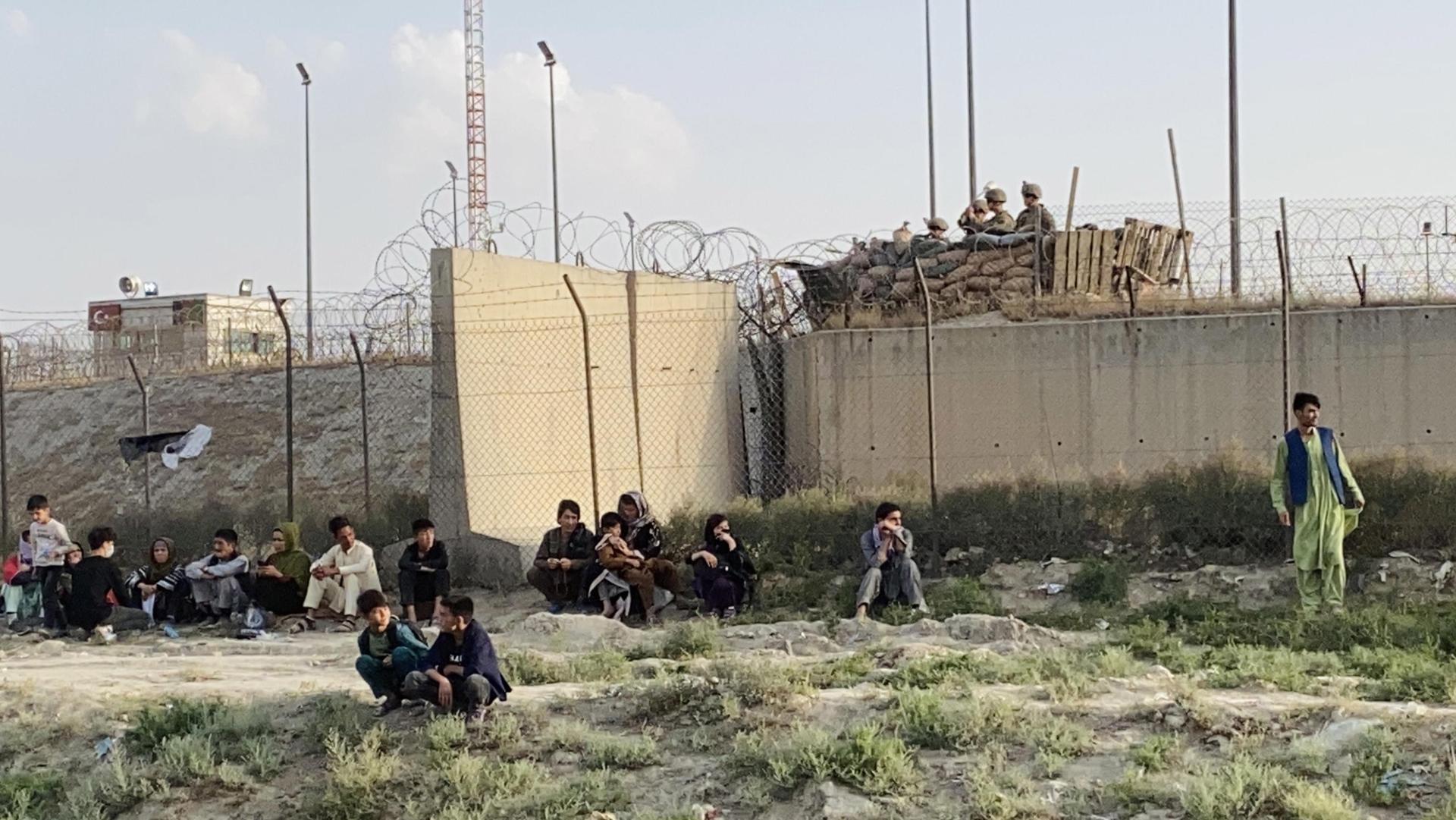 aeroporto Kabul ANSA