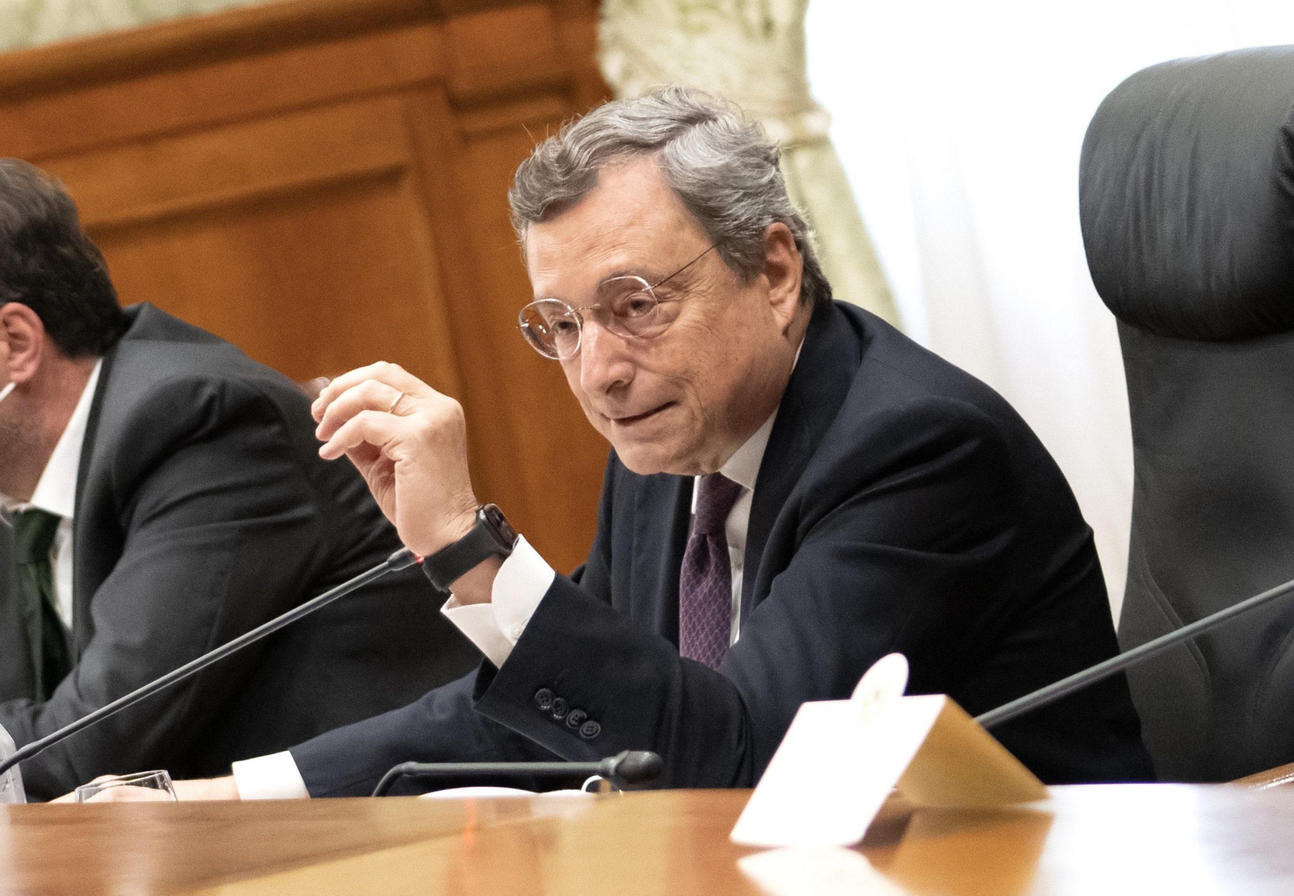 Mario Draghi ANSA