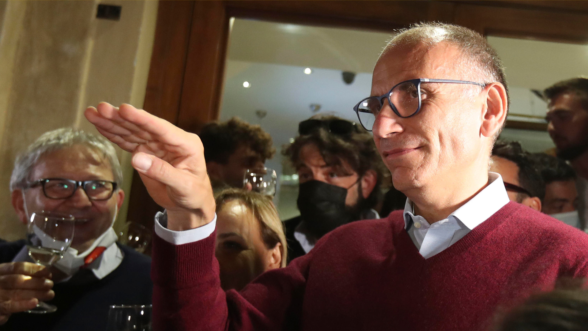Enrico Letta PD ANSA